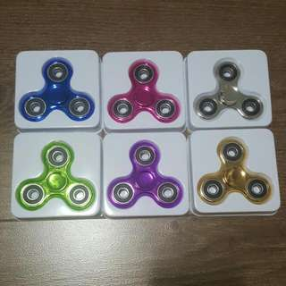 Metallic Chrome Fidget Spinners