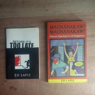 Ed Lapiz   Before It's Too Late & Magnanakaw! Magnanakaw!
