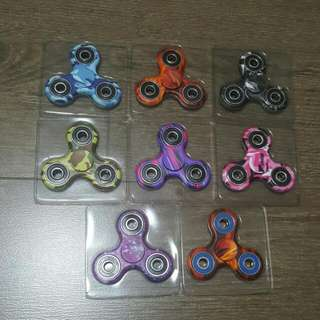 Multicolour And Camouflage Fidget Spinners