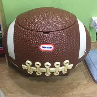 Little tikes Football ToyS Storage