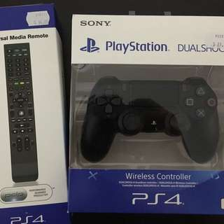 PS4 Controller And Remote