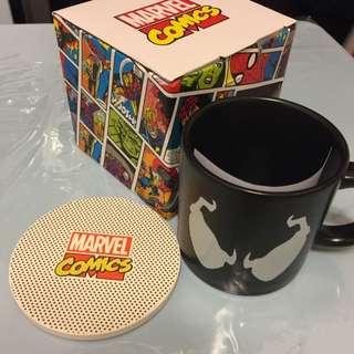 全新Marvel 瓷杯連杯墊