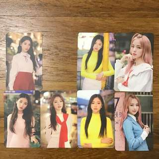 Instocks: LOONA 1/3 Love&Live Photocard