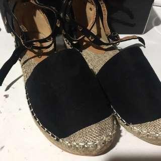 PRETTYLITTLETHING espadrilles sandals valentino inspired