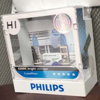 philips H1 crystal vision 4300k