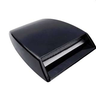 Universal Auto Car Design 3D Vent Hood Scoop Exterior Decoration Black