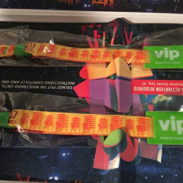 2 Vip Coachella Wristbands Weekend 2