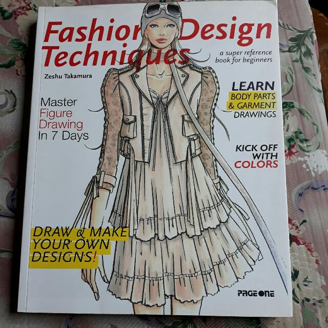 50 Off Fashion Design Techniques By Zeshu Takamura J Pop On Carousell