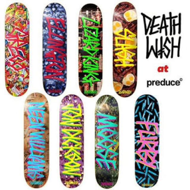 7 x Deathwish Gang Name Series Boards