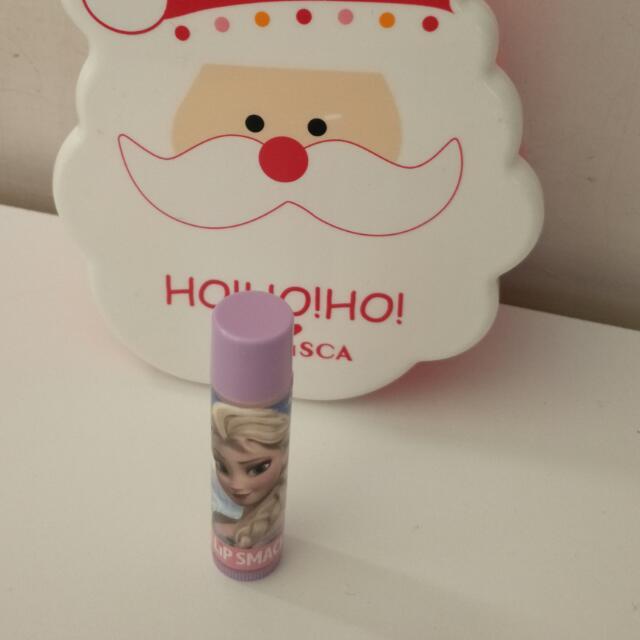 迪士尼愛莎公主護唇膏