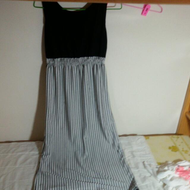條紋長裙#轉轉來交換
