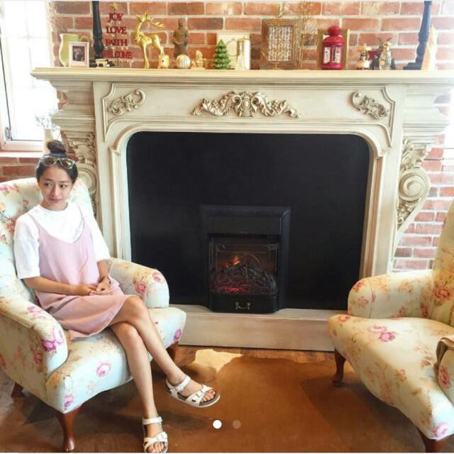 粉紅色雪紡外搭式吊帶背心裙