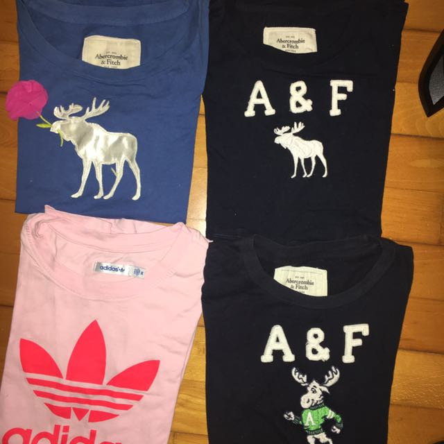 Adidas A&F 短袖上衣