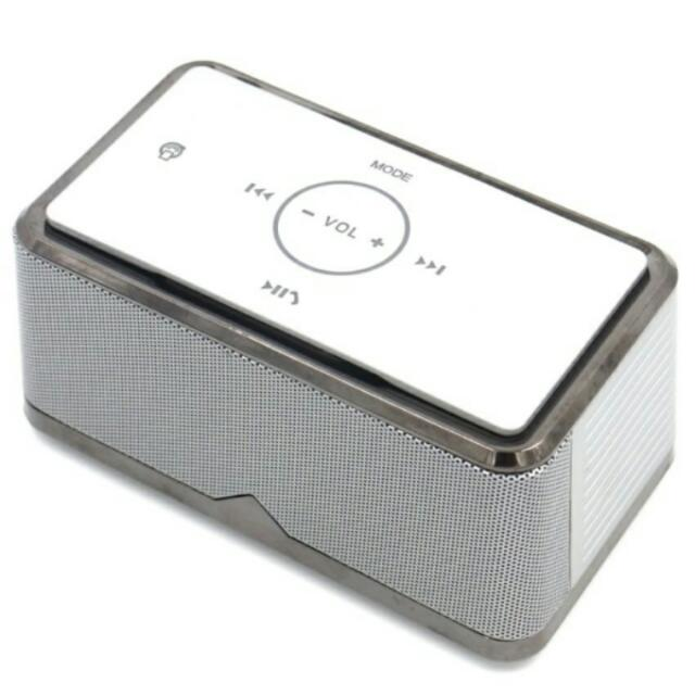 Aitisin ats-A8 Portable Rechargeable Bluetooth Speaker (Grey)