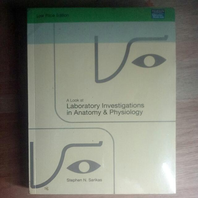 Anatomy Physiology Laboratory Investigations