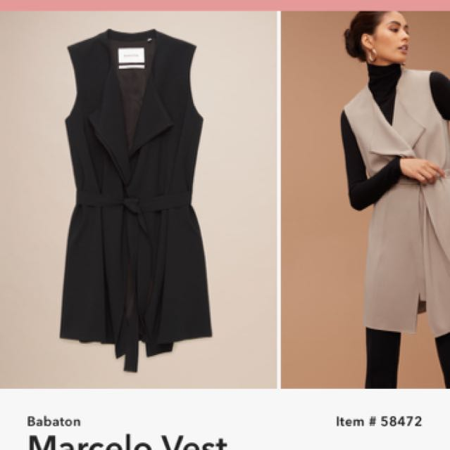 Aritzia - Babaton Marcelo Vest