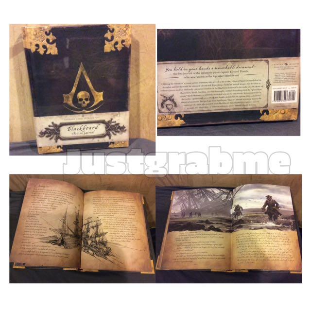 Assassin's Creed IV Black Flag: Blackbeard The Last Journal