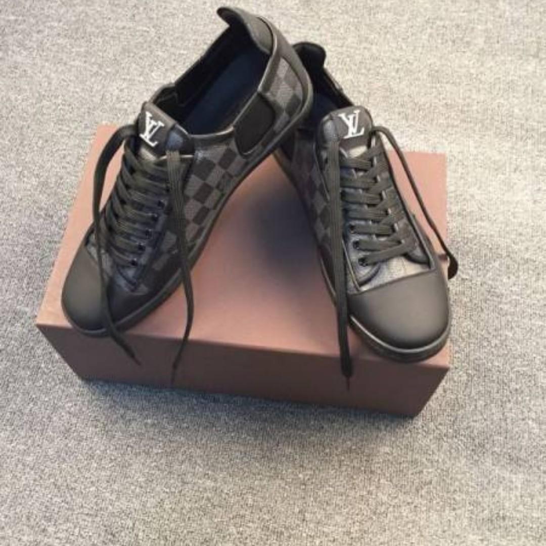 Authentic Louis Vuitton limited monogram Eclipse sneakers