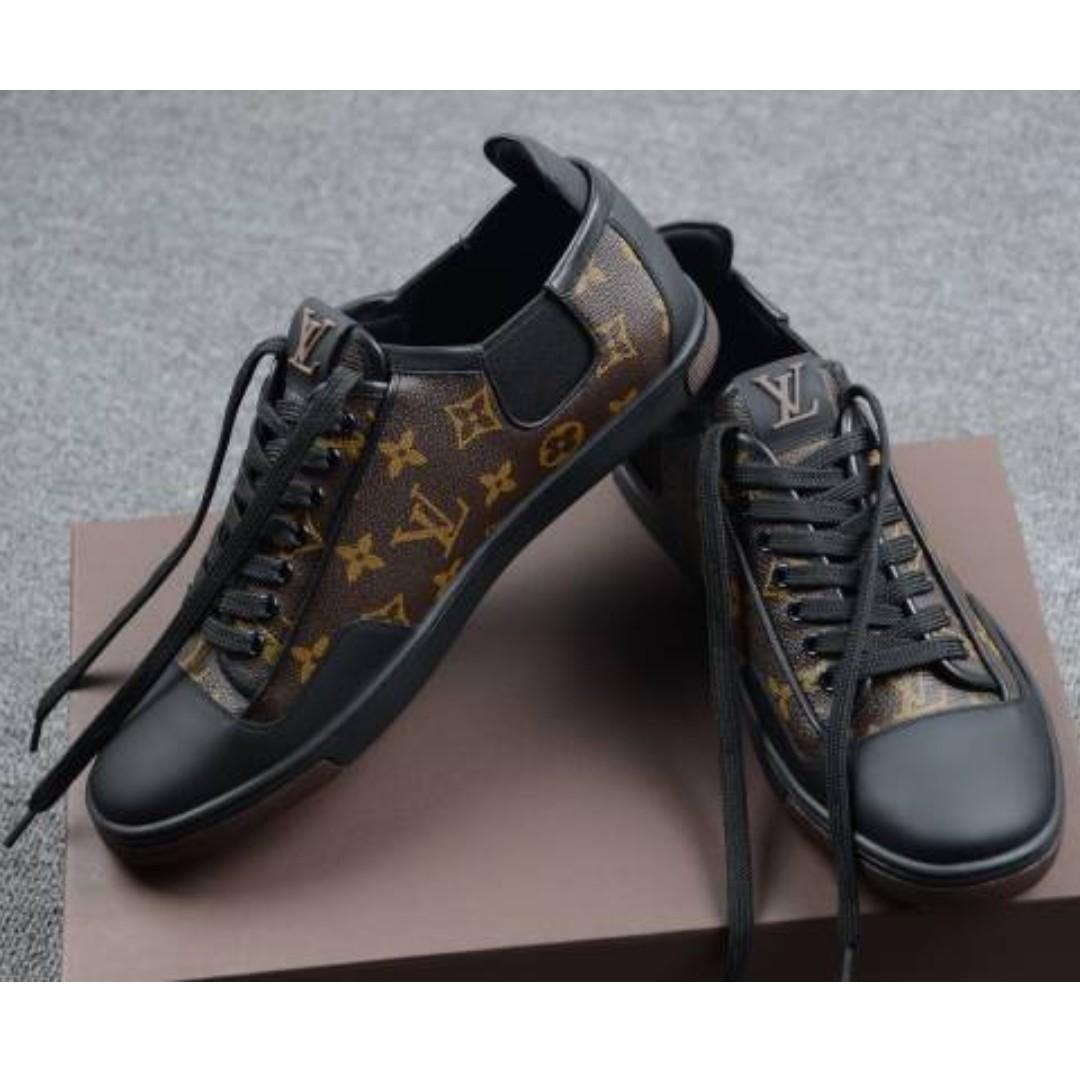 Authentic Louis Vuitton LOUIS VUITTON leather sneaker