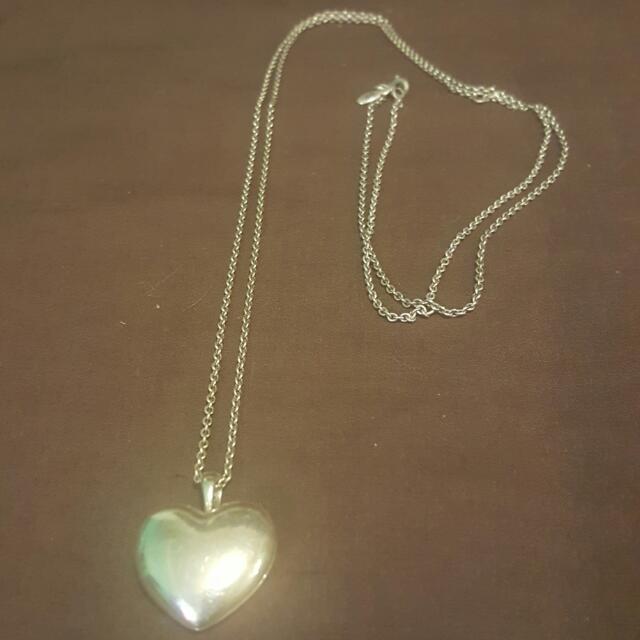 Authentic Pandora Heart Necklace