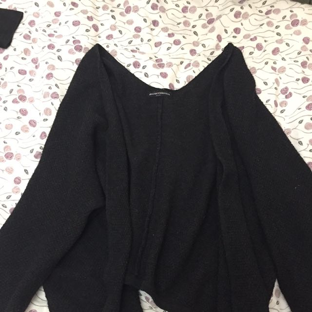 Black Brandy Melville Cardigan/Duster
