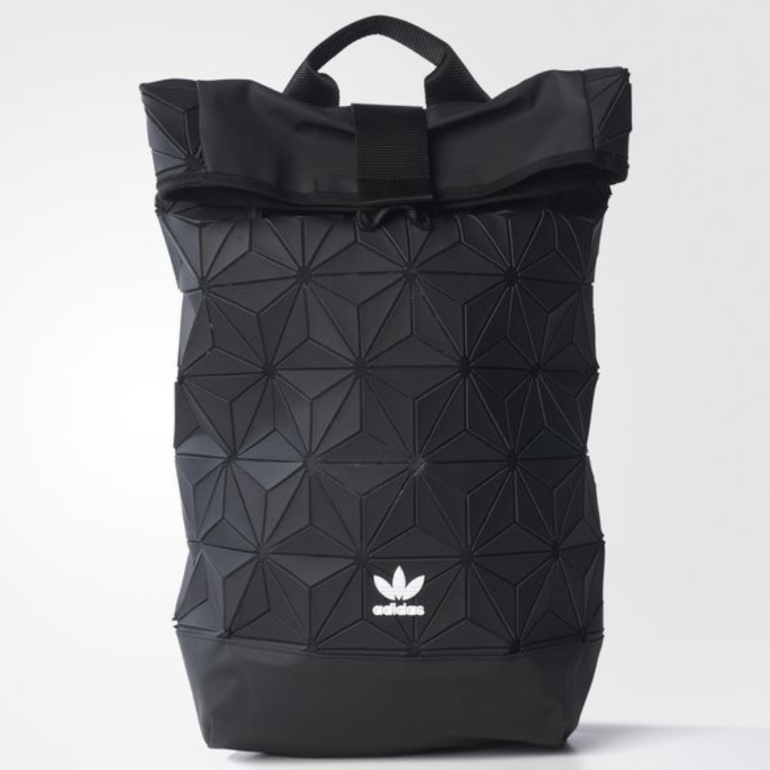 4db4eac38b579 BN Limited Issey Miyake Adidas Originals Urban Roll Up Black Bag backpack,  Men's Fashion, Bags & Wallets on Carousell