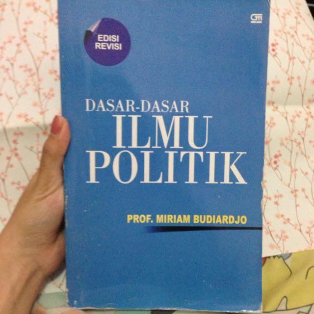 Buku Dasar-Dasar Ilmu Politik Prof. Miriam Budiardjo