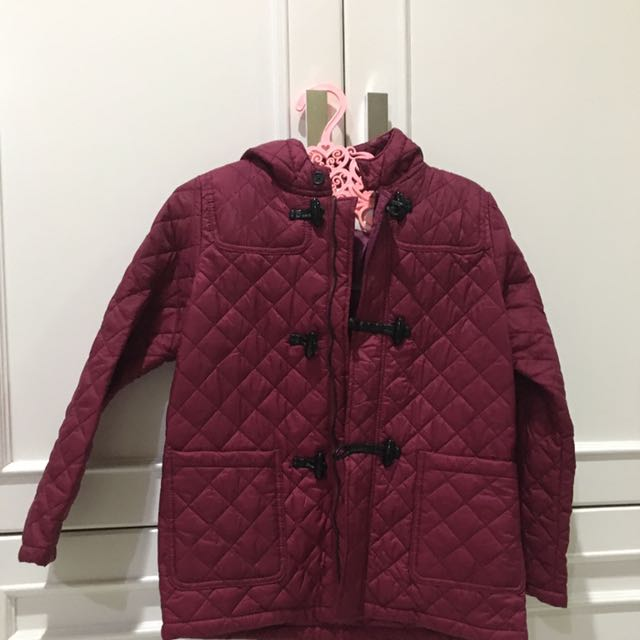 Burberry Jacket With Hoodie