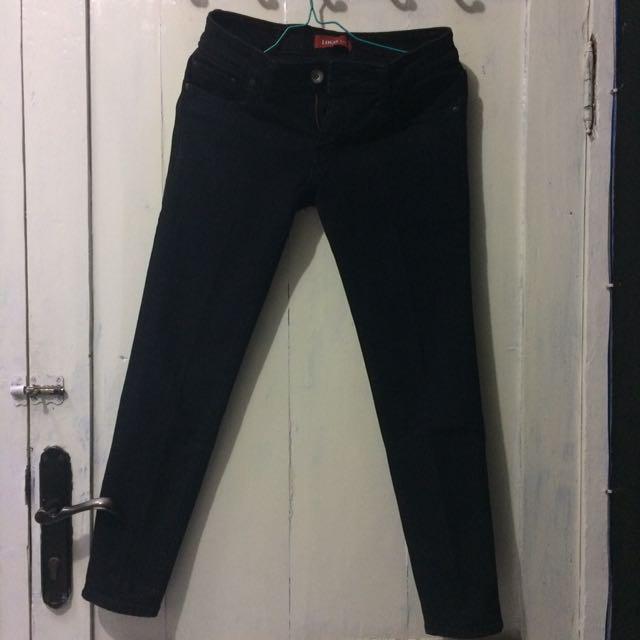 celana Logo Jeans