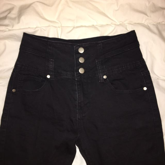 Chicabooti Black Jeans