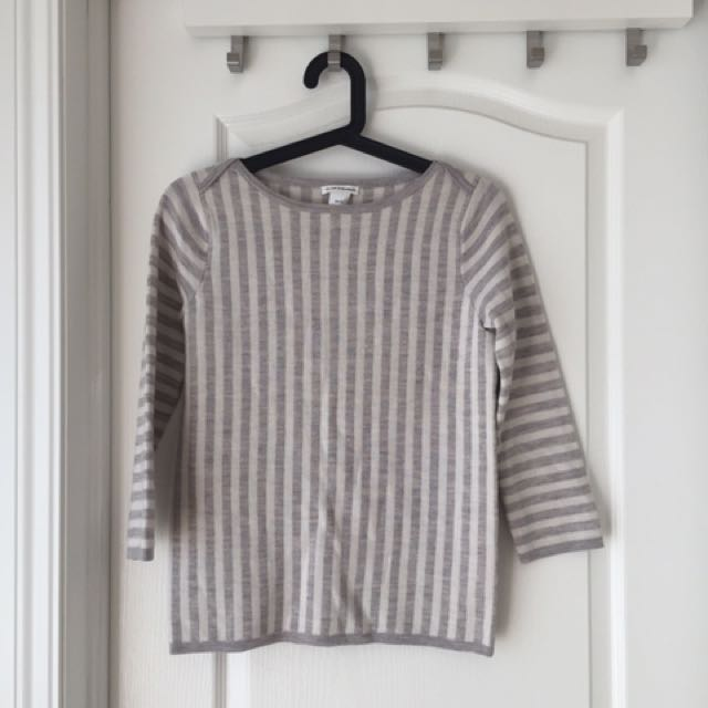 Club Monaco Wool Striped Sweater