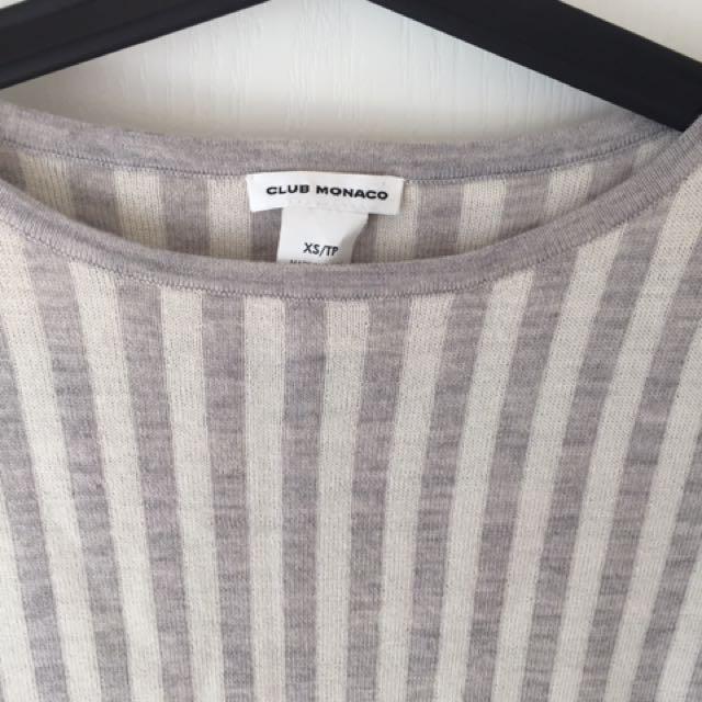 Club Monaco Wool Striped Sweater