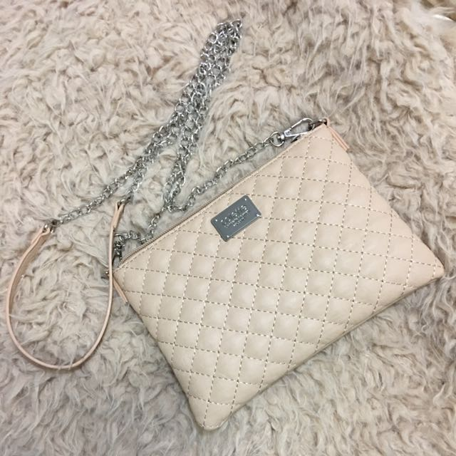 Colette Mini Purse - Beige