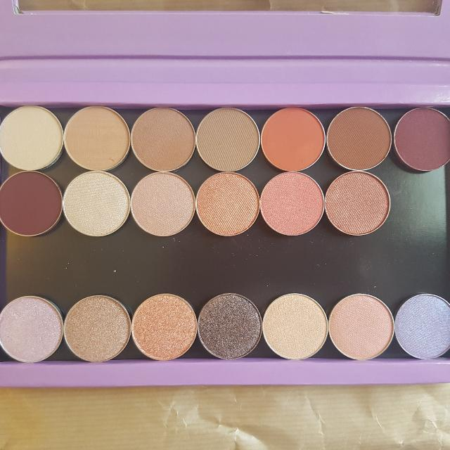 Custom MakeUp Geek Eyeshadow Z-palette