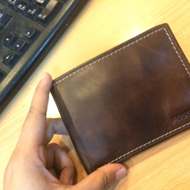 DOMPET FOSSIL COWOK NEW