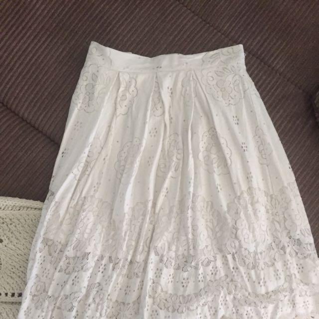 Dotti Lace Skirt