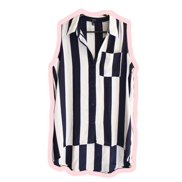 F21 Stripes Shirt