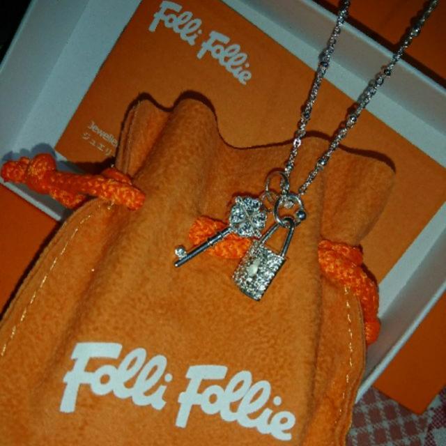 FF鑲鑽項鍊