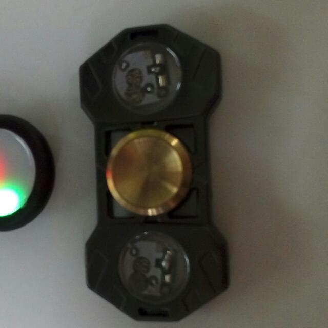 FIDGET SPINNER METAL (LED)