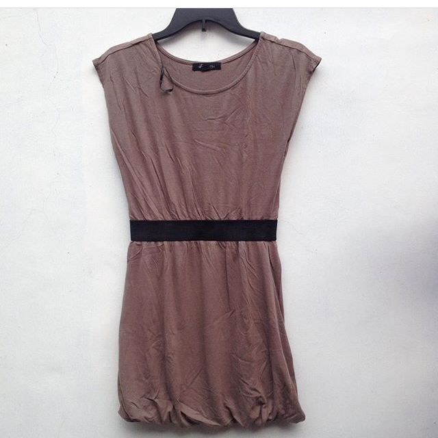 FOREVER21 BROWN DRESS