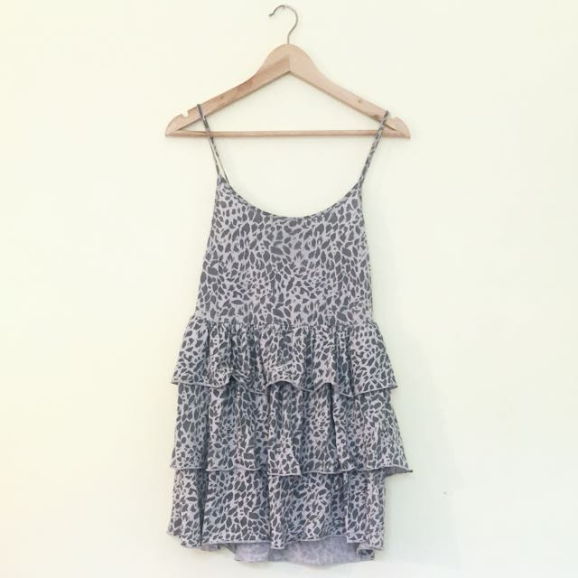General Pants Leopard Print Dress