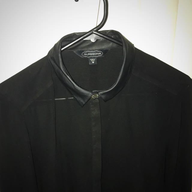 Glassons Neck Buckle Blouse