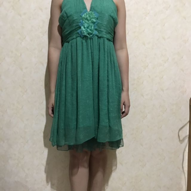 green night dress