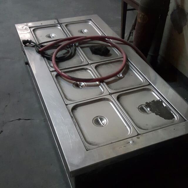 Heavy Duty Stainless Food Warmer