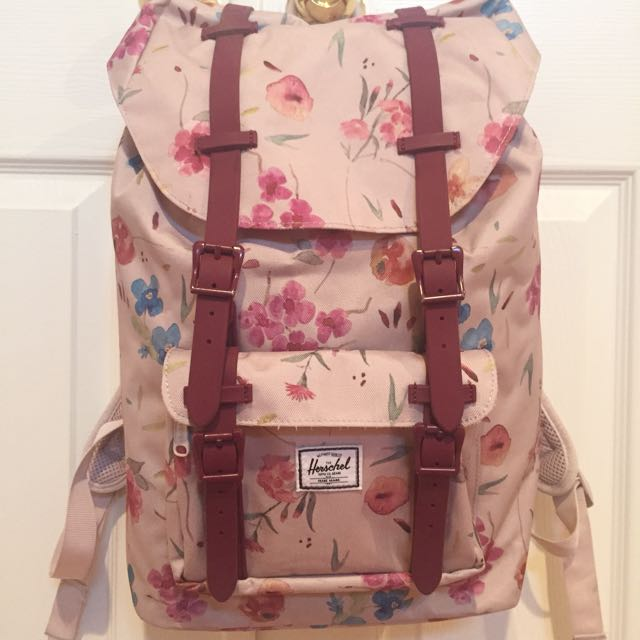 Herschel Little America floral backpack
