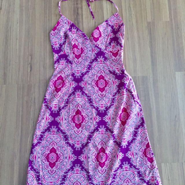 H&M Halter Summer Dress