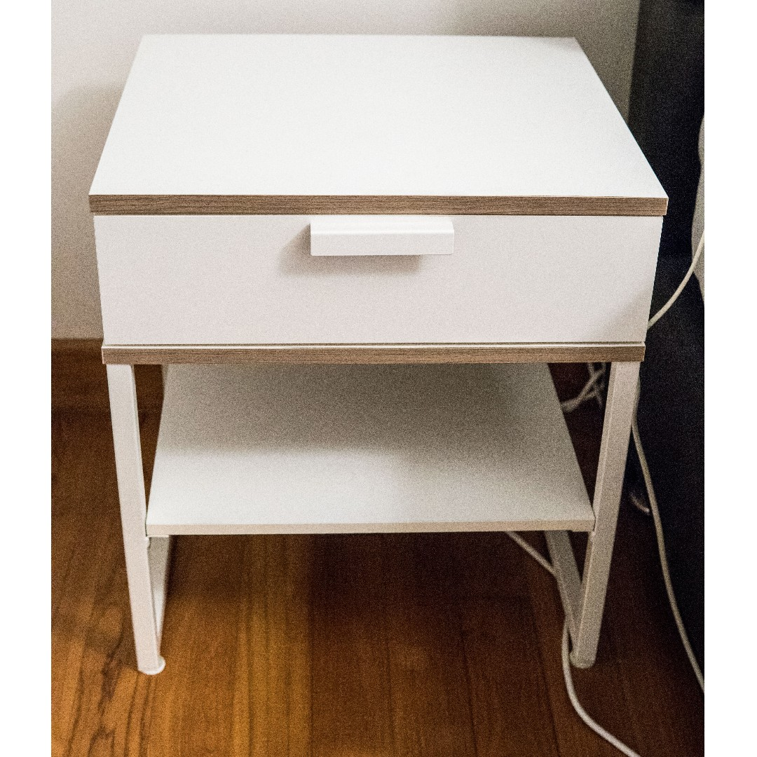 Ikea Trysil Bedside Table 2 Colours Available Furniture