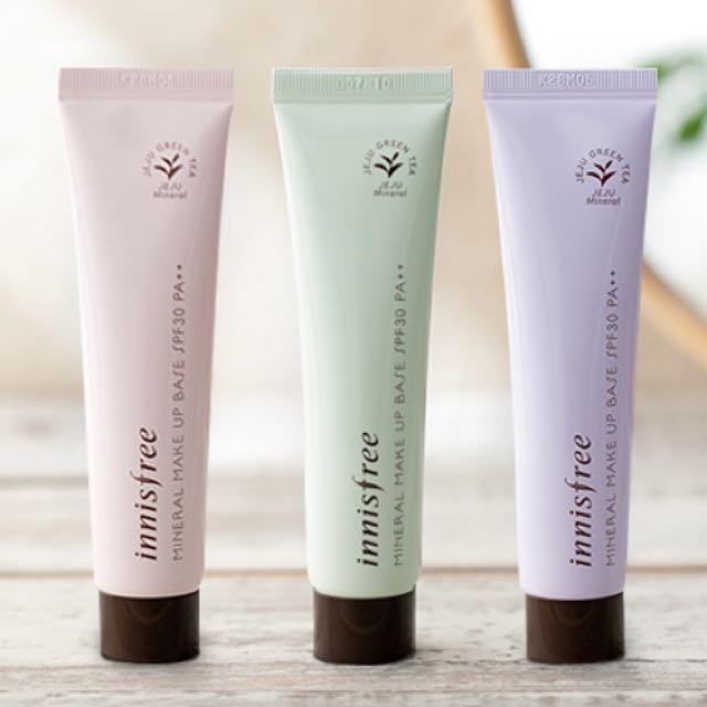 innisfree控物質妝前乳(綠色)