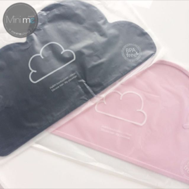 Kids Tableware -Silicone Cloud Shaped Kids Tableware
