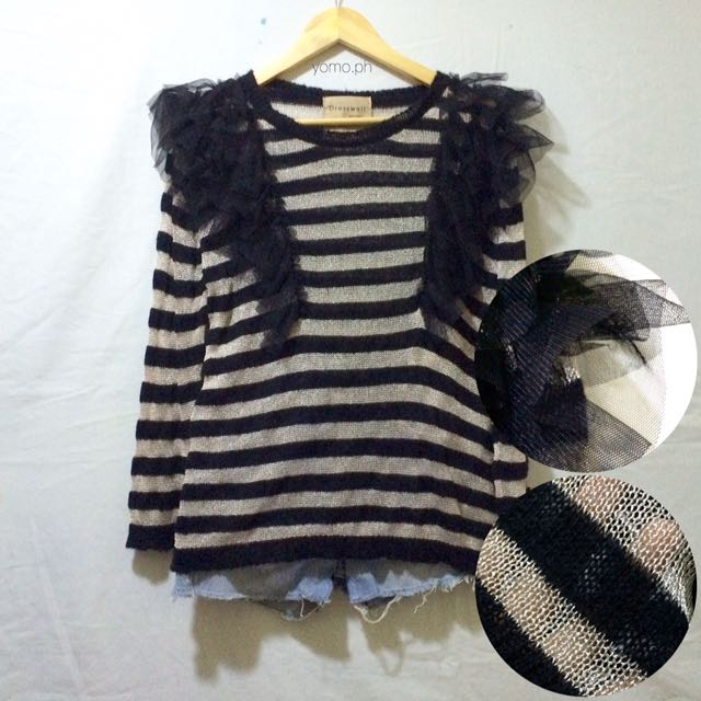 Knitted Stripe Pullover